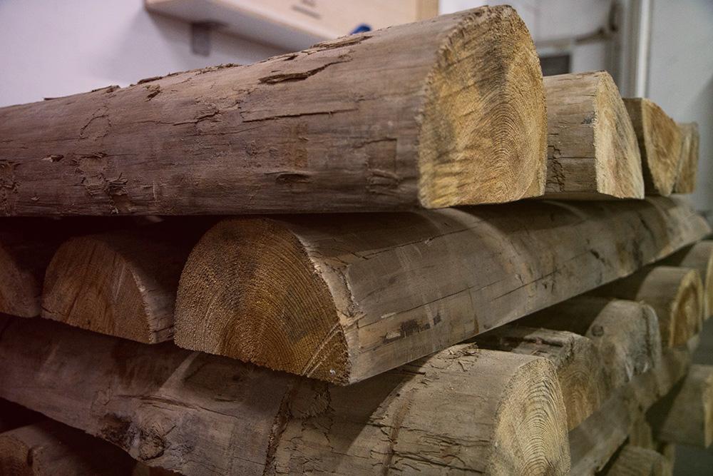 Ausgangsrohstoff Holz